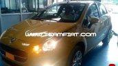 2014 Fiat Punto Evo spied front lights