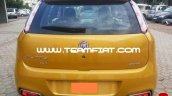 2014 Fiat Punto Evo spied rear