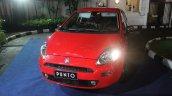 2014 Fiat Punto Indonesia front three quarters