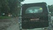 2014 Mahindra Scorpio facelift spied IAB Nashik rear