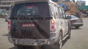 2014 Mahindra Scorpio refresh spy rear