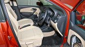 2014 VW Polo facelift front seats launch
