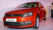 2014 VW Polo facelift front three quarters right launch