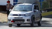 2015 Fiat Uno Adventure facelift spied in Brazil front