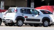 2015 Fiat Uno Adventure facelift spied in Brazil rear three quarter