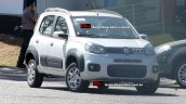 2015 Fiat Uno facelift spied in Brazil front three quarters