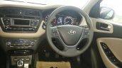 2015 Hyundai i20 dashboard spyshot