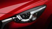 2015 Mazda2 projector headlamp
