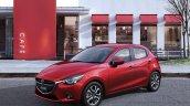 2015 Mazda2 red