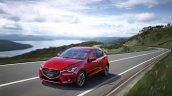2015 Mazda2 tracking shot