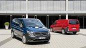2015 Mercedes Vito panel van and Mixto