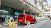 2015 Mercedes Vito red panel van