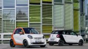 2015 Smart ForFour and ForTwo