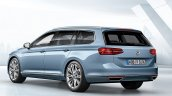 2015 VW Passat press image estate rear three quarters