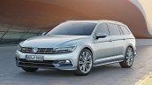 2015 VW Passat press image front left three quarters