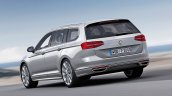 2015 VW Passat press image rear left three quarters