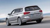 2015 VW Passat press image rear left three quarters