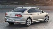 2015 VW Passat press image rear three quarter