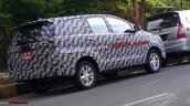 2016 Toyota Innova India spied rear quarter