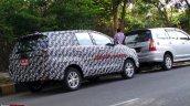 2016 Toyota Innova India spied rear quarters