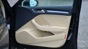 Audi A3 Sedan Review door trim