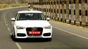 Audi A3 Sedan Review dynamic front