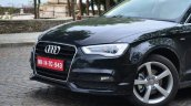 Audi A3 Sedan Review headlight and grille