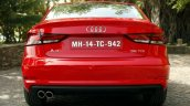 Audi A3 Sedan Review rear halogen