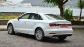 Audi A3 Sedan Review rear quarter base variant