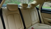 Audi A3 Sedan Review rear seat back