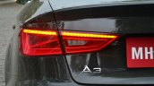 Audi A3 Sedan Review rear turn lights