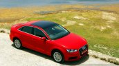 Audi A3 Sedan Review red top
