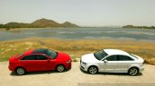 Audi A3 Sedan Review side by side