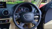 Audi A3 Sedan Review steering