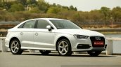 Audi A3 Sedan Review white side