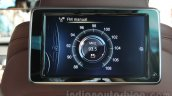 BMW ActiveHybrid 7 rear LCD screen India launch