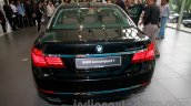BMW ActiveHybrid 7 rear view India launch