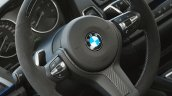 BMW M235i Track Edition steering wheel