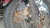 Bajaj Pulsar 200 SS spied front disc
