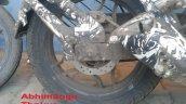 Bajaj Pulsar 200 SS spied rear disc