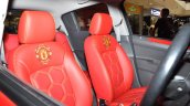 Chevrolet Beat Manchester United Edition live shot seat