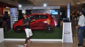 Chevrolet Beat Manchester United Edition live shot side