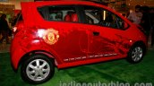 Chevrolet Beat Manchester United edition rear right three quarters