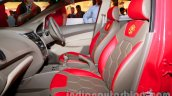 Chevrolet Sail U-VA Manchester United Edition front seats