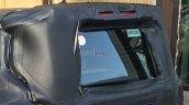 Fiat 500X SUV spied screen