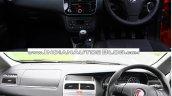 Fiat Grande Punto vs Fiat Punto Evo interior