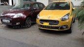 Fiat Punto Evo Facelift vs old Fiat Punto front