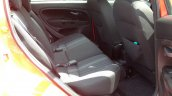 Fiat Punto Evo Sport 90 HP diesel review rear seats