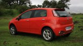 Fiat Punto Evo Sport 90 HP diesel review rear three quarter
