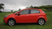 Fiat Punto Evo Sport 90 HP diesel review side profile